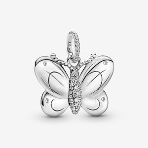 ❣️Pandora  Pave Butterfly Pendant